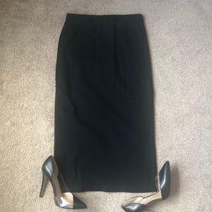 H&M basics cotton skirt